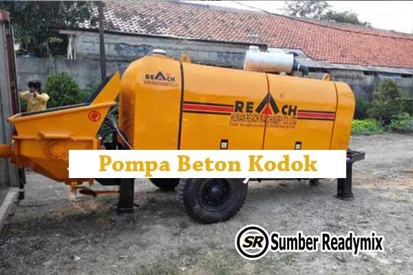 Pompa Beton Kodok, Portable, Moli