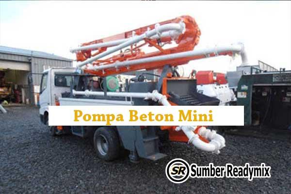 Pompa Beton Mini Depok