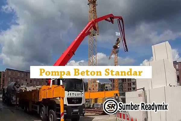 Pompa Beton Standar Jakarta