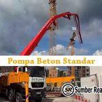 Harga Sewa pompa Beton Concrete Pump Tangerang 2021