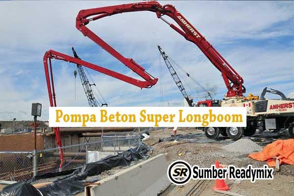 Pompa Beton Super Longboom Depok
