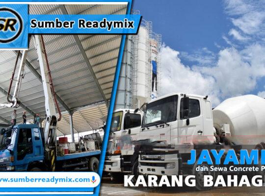 harga beton jayamix karang bahagia