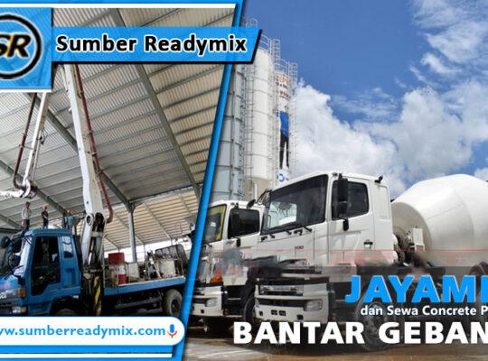 harga beton jayamix bantar gebang