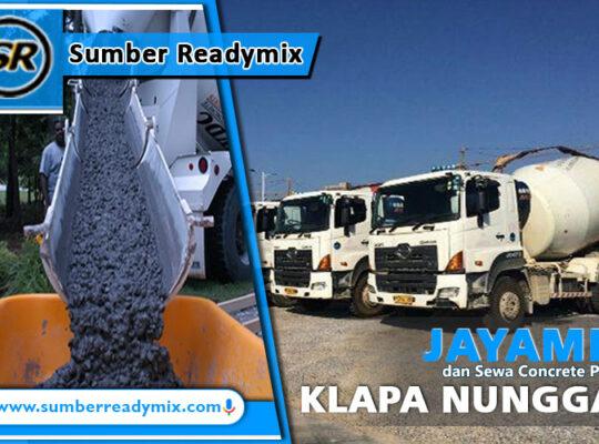harga beton jayamix klapanunggal