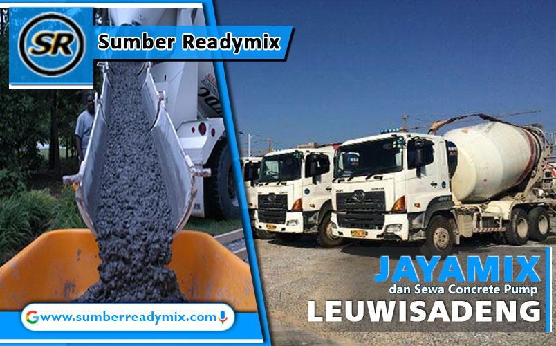 harga beton jayamix leuwisadeng