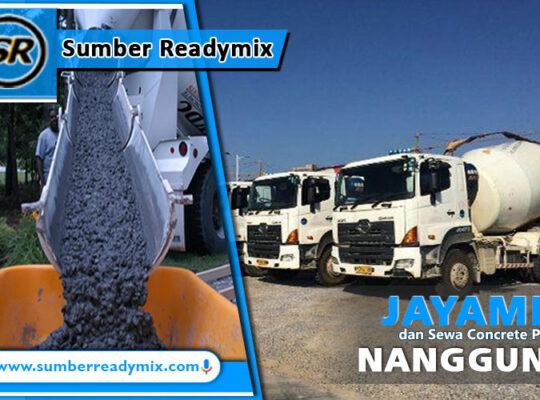 harga beton jayamix nanggung