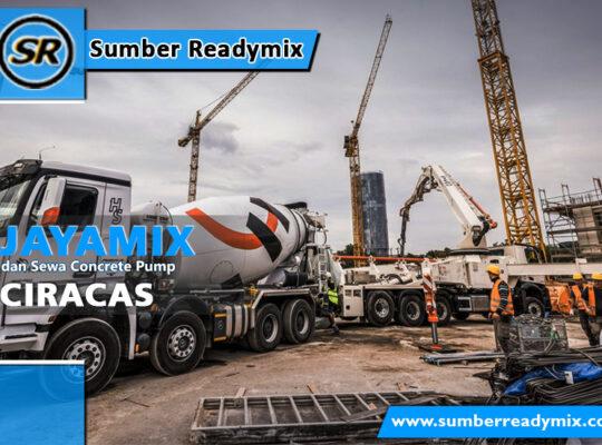 harga beton jayamix Ciracas
