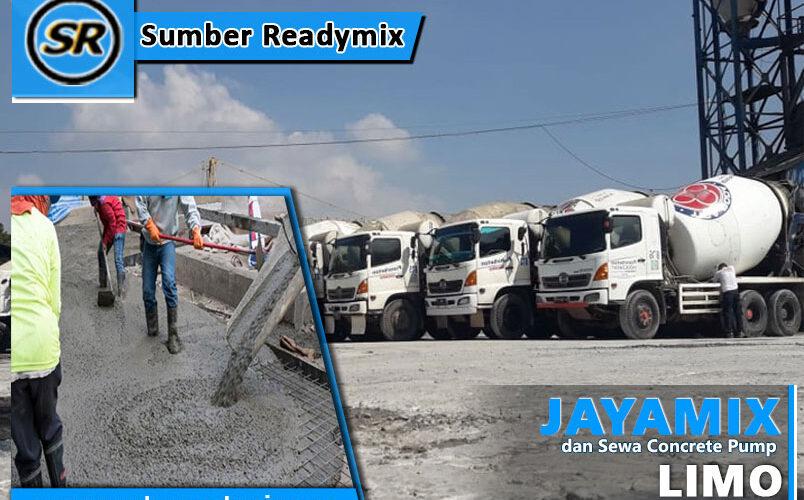 harga beton jayamix Limo